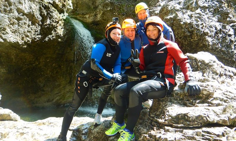 Canyoning Zell am See Tour FUN